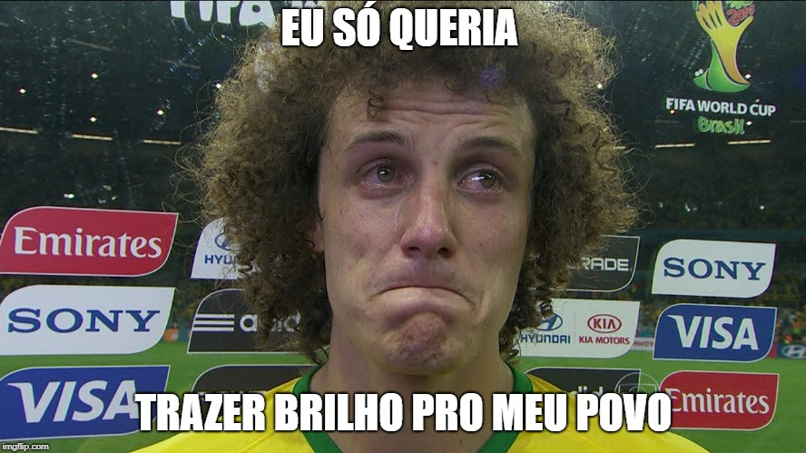 david luiz copa 2014 glitter biodegradável