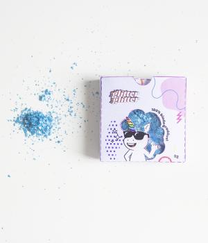 Glitter Biodegradável Azul Anis